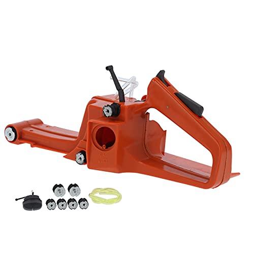 Tanque de gasolina Mango trasero, Mango trasero Suministros de motosierra Resistente al desgaste Reemplazo directo para motosierra Husqvarna 268272 XP 61