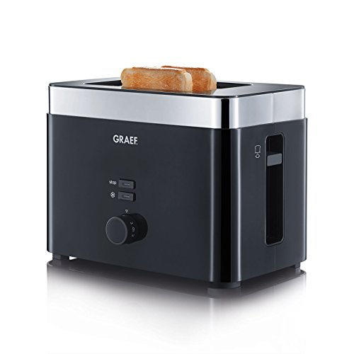 Graef Toaster TO 62, zwart