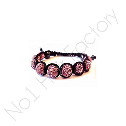 no1hairfactory Haarverlängerung, Free Colour-Pink, , AB White, Stück: 1