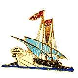 限定 レア ピンバッジ ヨットボート帆船 ピンズ フランス