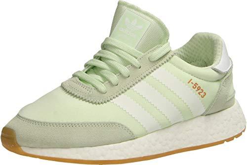 Adidas I-5923 W, Zapatillas de Deporte para Mujer, Verde (Aerver/Ftwbla/Gum3 000), 40 EU