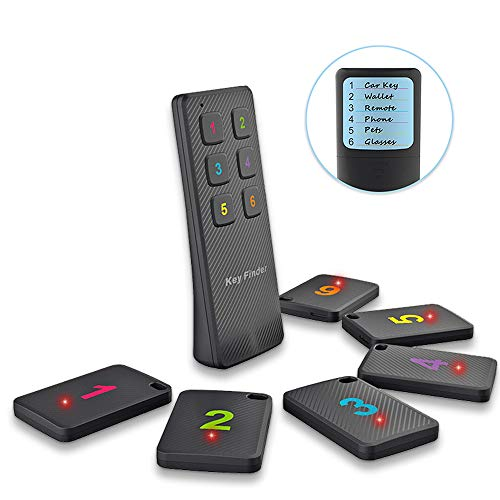Key Finder | Find My Keys Car Key Remote Control Phone Lost Item Device | 6 Tile Wireless Locator...