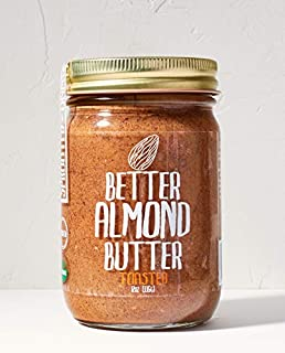 sprouted almond butter vs almond butter