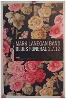 Mark Lanegan Band Poster Blues Funeral The Queens of the Stone Age