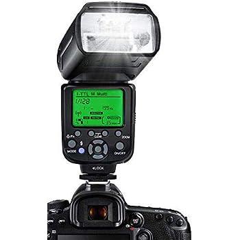 ESDDIニコン用フラッシュストロボ i-TTL 1/8000 HSSワイヤレスフラッシュスピードライト GN58 2.4Gワイヤレスラジオマスタースレーブ ワイヤレスフラッシュトリガ付きの専門的なカメラフラッシュセット