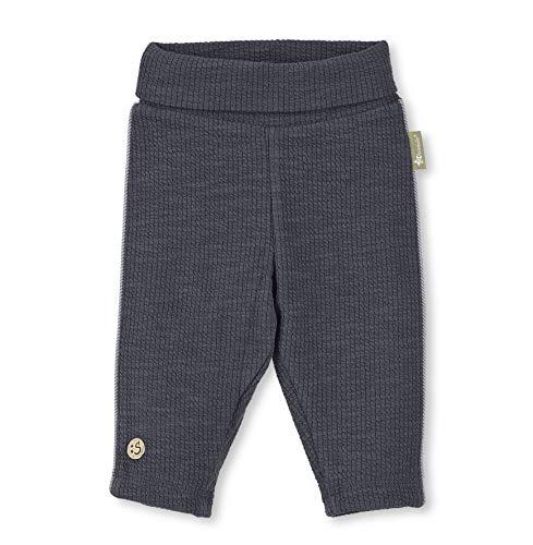 Sterntaler baby-jongens Pantalon Côtelé Avec Doublure, taille: 12-18 Mois, 5701910 broek, grijs (ijzergrijs 577), één maat (fabrikantmaat: 86)