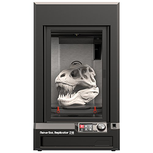 MakerBot Replicator Z18 - impresoras 3D (Negro, 350W, 100-240V, 50/60 Hz, Mac OS X 10.7 Lion, Mac OS X 10.8 Mountain Lion, Mac OS X 10.9 Mavericks, 15-24 °C)