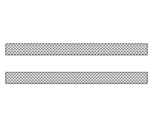 AG Design A-CZ-071 sticker reflector rechthoek, 3D, afmeting 30 x 2,5 cm, set van 2, wit