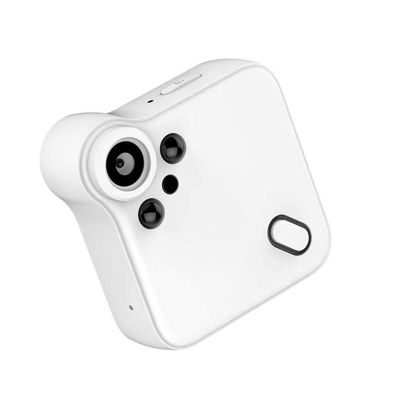 WiFi Mini Spy Hidden Cameras,Full HD 1080P Portable Small Wireless Home Nanny Cam with Night Vision and Motion Detection,Perfect Covert Micro Security Surveillance Camera,White