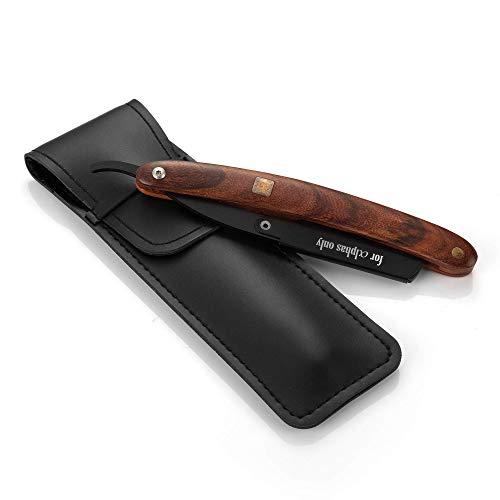 A.P. Donovan - Rasiermesser mit Wechselklinge | Bartpflege für den Mann | Rasierer mit Etui | mit Gravur