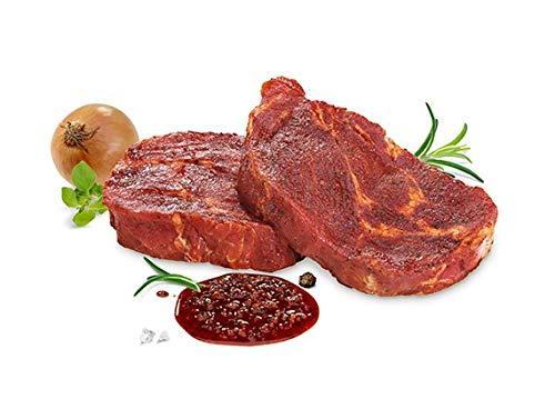 Kreutzers | Schwenkersteaks No 1. Grillsteaks Schweinefleisch Grillen Steak | 4 Stk.