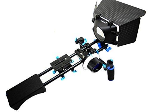 Koolehaoda soporte estabilizador de cámara réflex digital de hombro + de mano...