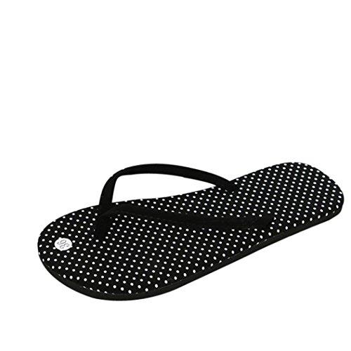 Sandalias con Chancletas para Mujer Chanclas de Verano para Mujeres Zapatos Sandalias Zapatillas de Interior y Exterior Calzado (39, A)