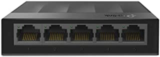 TP-Link LS1005G 5-Port Desktop/Wallmount Gigabit Ethernet Switch/Hub, Network Splitter, Plug and Play, Plastic Case