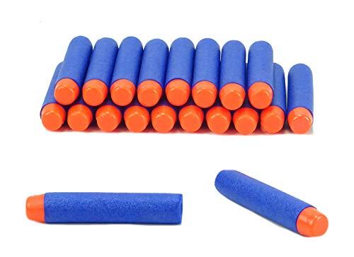 BALLOONSHOP Toyland® Pack of 20 - 6.cm Dardi in Schiuma di Ricarica - Confezione Accessori per Pistole dardo