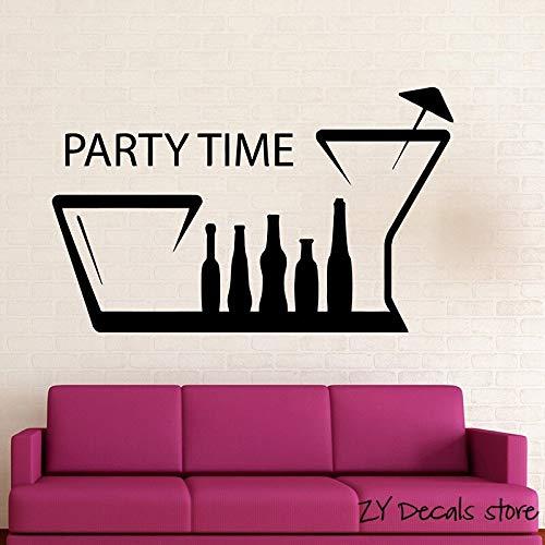 Fun Nachtclub aktiven Hangouts entfernbare Wandkunst Aufkleber Wandaufkleber Party Birthday Party Supplies 75cmx122cm