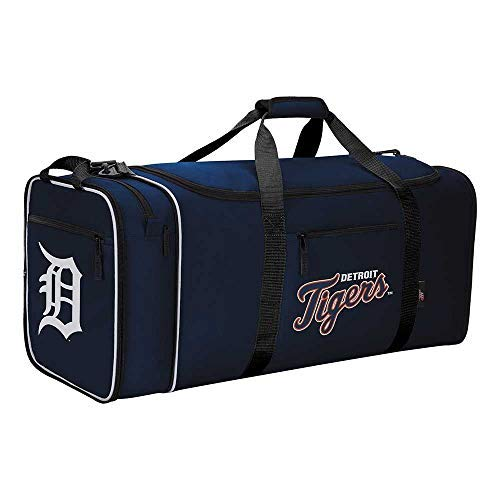 """The Northwest Company Detroit Tigers MLB Steal Duffel, 28"""" x 11"""" x 12"""", Multi, One Size"""