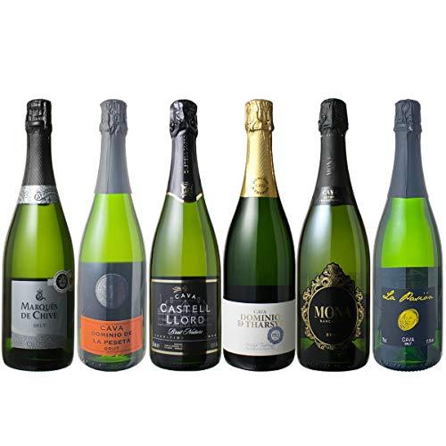 カヴァだけ集めて、爽快な泡を楽しむスパークリングワイン6本セット!