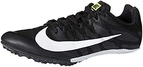Nike Zoom Rival S 9 Track Spike Black/White/Volt - Men's Size 6/Women's Size 7.5