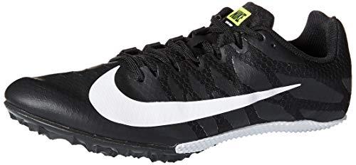 Nike Men's Zoom Rival MD 8 Track Spike Black/White/Volt 10 Women/8.5 Men
