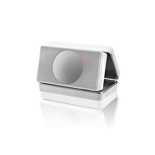 Geneva Lab XS 12W Weiß - Tragbare Lautsprecher (2,54 cm, 12 W, 80-20000 Hz, Kabellos, A2DP, Weiß)