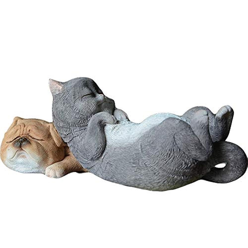 叫び声値する大脳GWM 装飾品かわいい動物樹脂家の装飾研究リビングルームオフィス