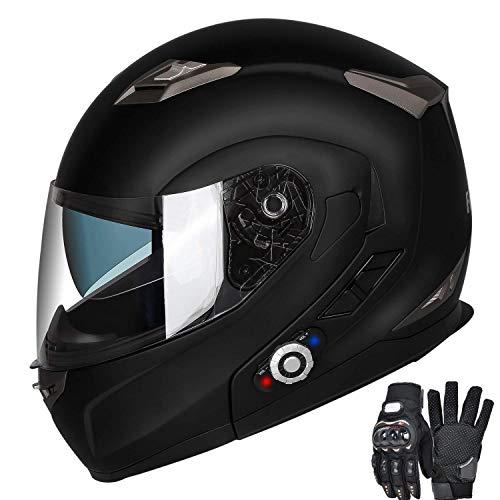 FreedConn Motorcycle Bluetooth Helmets,...