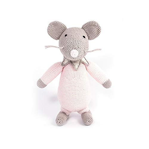 Mouse Girl. Jouet au crochet