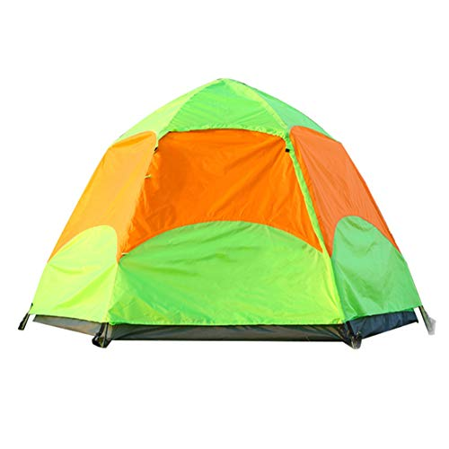 SHU Extérieur 3-4 Personnes Tente Double Couche Camping Camping Outing Pluie/Vitesse Automatique,2