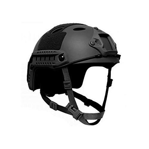 Mich fast Helm Airsoft schwarz Polizei Militär SEK Bundeswehr KSK SAS #33146
