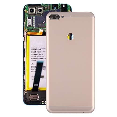 YUKIKI Battery Back Cover for Lenovo K5 Note (Black) (Color : Gold)