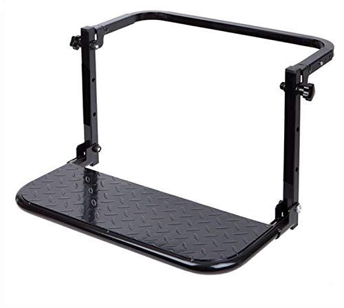 1pc Protable plegable SUV MPV coches Escaleras de neumáticos de montaje peldaños de la escalera en forma for el techo del vehículo Bastidores equipaje de la bici recorrido de coche