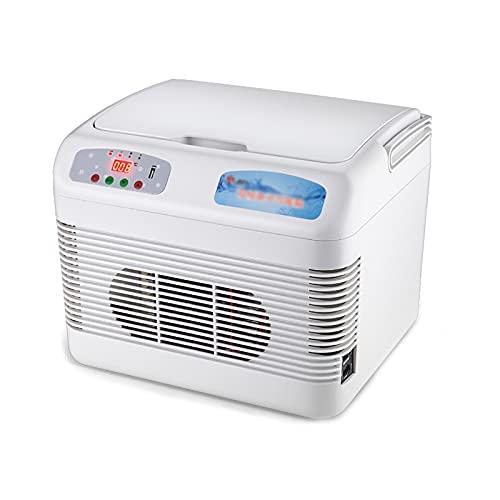 JUNKUN Mini Nevera 15L Enfriamiento rápido 2-8 ° C (Temperatura Ambiente