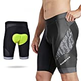 CYCWEAR Men's Indoor Cycling Shorts With Padding