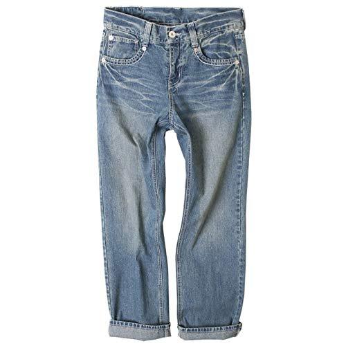 ボーイフレンドデニム レディース 大きいサイズ デニムパンツ ゆったり デニム パンツ ジーンズ S~3L