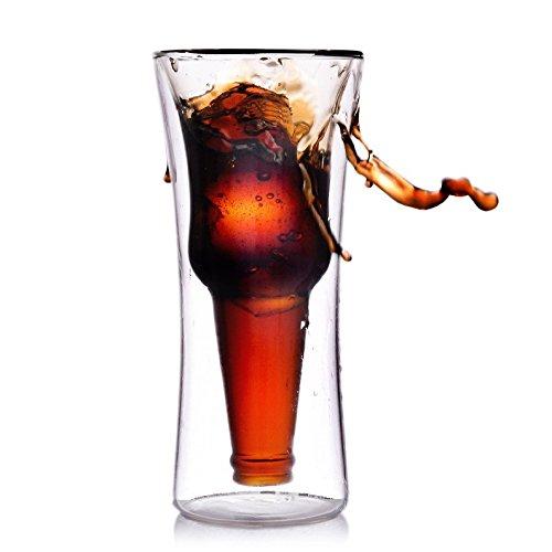 JARONG Verre Verre De Bière Double Tasse Tasse Boisson