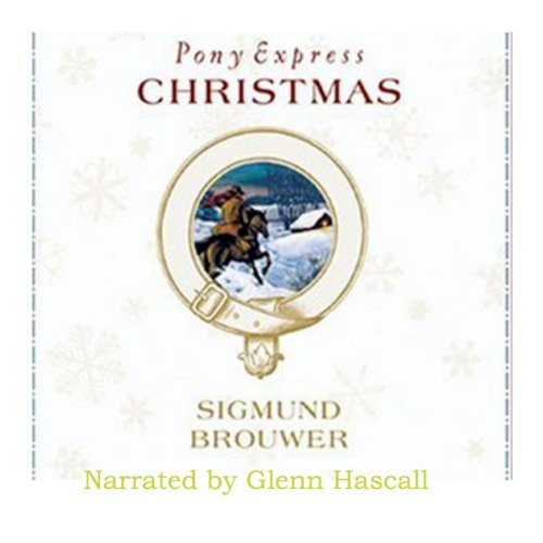 Pony Express Christmas audiobook cover art