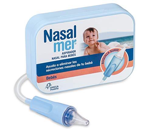 Nasalmer Aspirador Nasal para Bebés - Ideal para quitarle los mocos al bebé antes de ponerlo a dormir