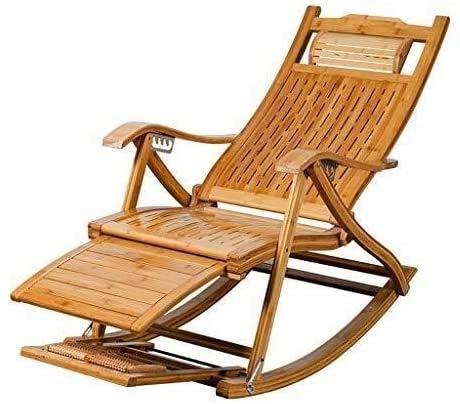 ADHW - Silla de playa, sillas de playa, sillas largas para exteriores, plegables, con masaje de las patas de rueda, sillón de salón, silla larga