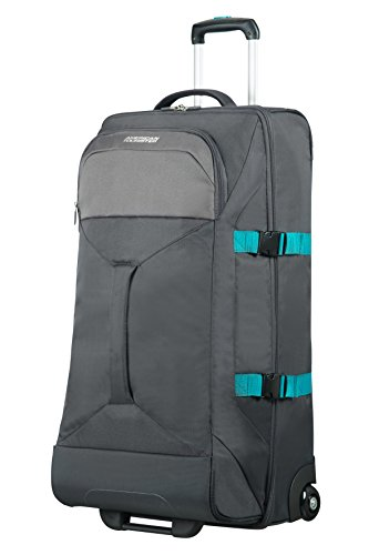 AMERICAN TOURISTER Road Quest - 2 Compartments Wheeled Duffle L Bolsa de Viaje, 80 cm, 88...