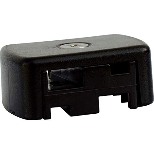 Progress Lighting P8651-01 Landscape Accessory Quick Connector, 1-5/8-Inch Width x 3/4-Inch Height, Black