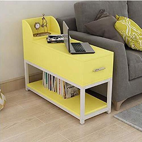 XHmeilianxd Eckschrank Wohnzimmer Haushalt Teetisch Schreibtisch Einfacher Seitenschrank Handlauf Schrank Ecktisch Beistelltisch Telefontisch Sofa Spind, 60 x 40 cm