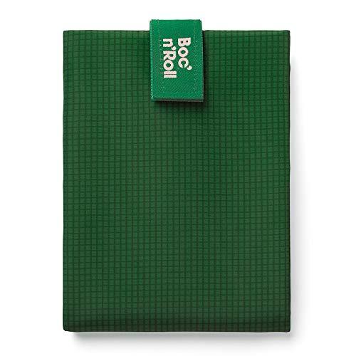 Roll'eat - Boc'n'Roll Active | Sac à Collation, Emballage à Sandwich Réutilisable et Ecologique sans BPA, Vert