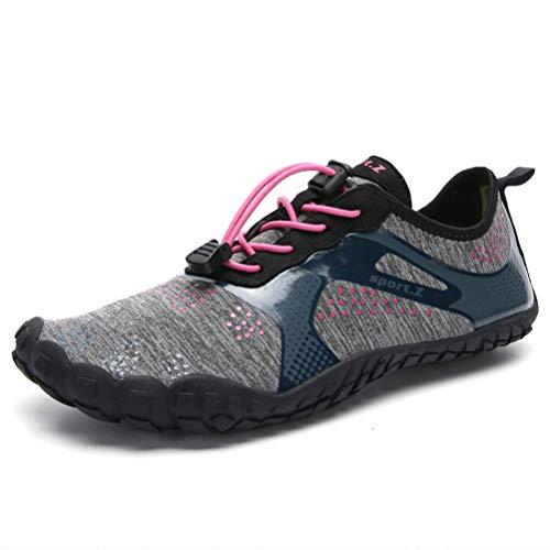 ZGYQGOO Zapatos de Agua Zapatos de natación de Playa Unisex Deportes al Aire Libre