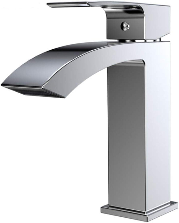 Bathroom Basin Sink Tap 360 Degree redation Basin Faucet Bathroom Single Hole Bathtub Faucet Ceramic Valve Hot and Cold Faucet