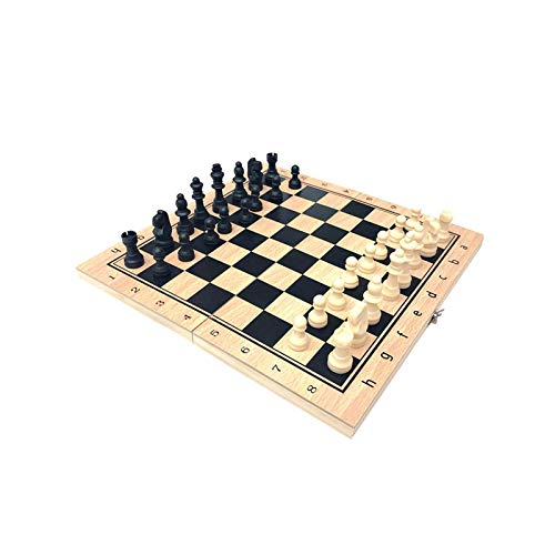 3 In 1 Chess Backgammon Set Foldable Travel Board Beginner Chess Set Best Gift For Children And Adults
