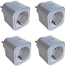 BELIFE® Smart WI-Fi slimme stekker16A intelligent mini stopcontact - werkt met Android en iOS en Google Home, Alexa, Googl...
