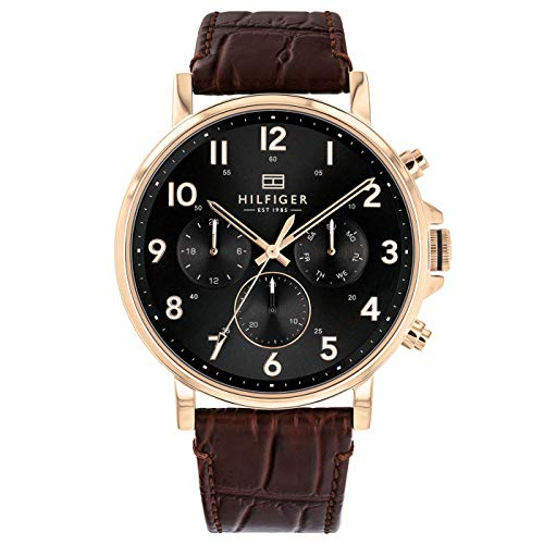 Tommy Hilfiger Analog Black Dial Men's Watch-TH1710379