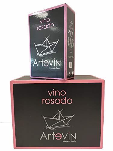 Bag in Box ARTEVIN vino ROSADO 12 L (4 x 3 litros)