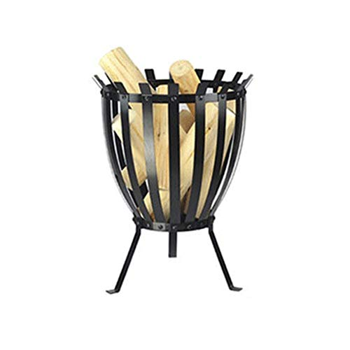 Cages Fire Pit Basket, Patio Wood Charcoal Burner Fire Pit, For Garden Houseware Pot Round Charcoal Brazier Heating Winter